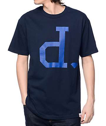 Diamond Supply Co Tonal Un-Polo Navy T-Shirt