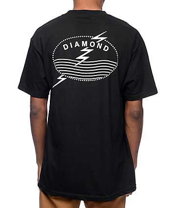 Diamond Supply Co Typhoon Black T-Shirt