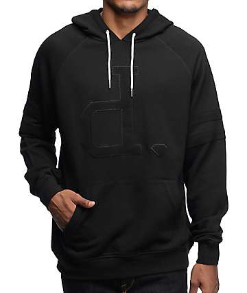Diamond Supply Co Un-Polo Black Hoodie
