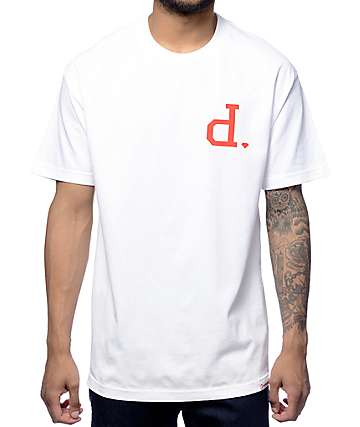 Diamond Supply Co Un-Polo Chest White T-Shirt