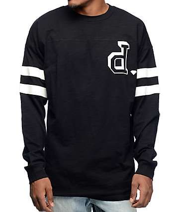 Diamond Supply Co Un Polo Long Sleeve Football Jersey
