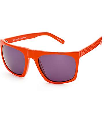 Diamond Supply Co Ventura Red Sunglasses