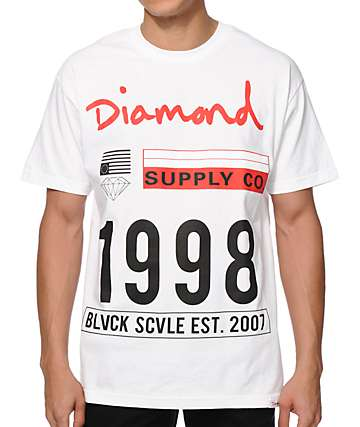 Diamond Supply Co x Black Scale 98 T-Shirt