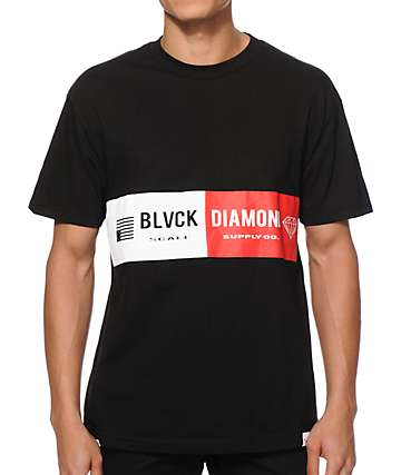 Diamond Supply Co x Black Scale Bar T-Shirt