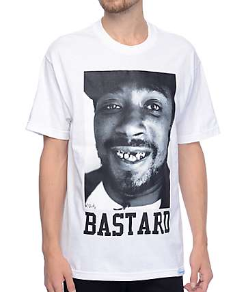 Diamond Supply Co x ODB Bastard White T-Shirt