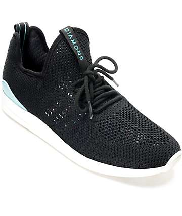 Diamond Supply Co. All Day Lite zapatos en blanco y negro