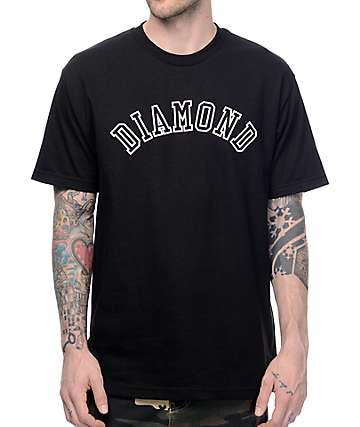Diamond Supply Co. Arc Black T-Shirt