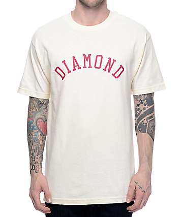 Diamond Supply Co. Arc Cream T-Shirt
