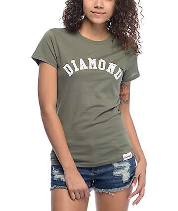 Diamond Supply Co. Arch Olive T-Shirt