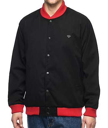 Diamond Supply Co. Blake Stadium Black Jacket