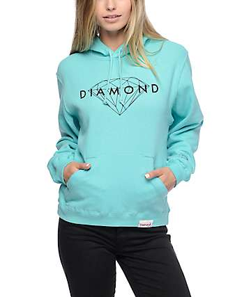Diamond Supply Co. Brilliant Diamond Blue Hoodie