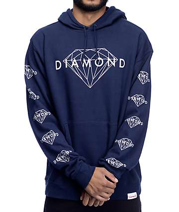 Diamond Supply Co. Brilliant Navy Hoodie