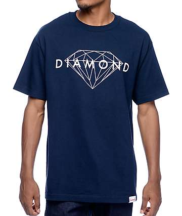 Diamond Supply Co. Brilliant Navy T-Shirt