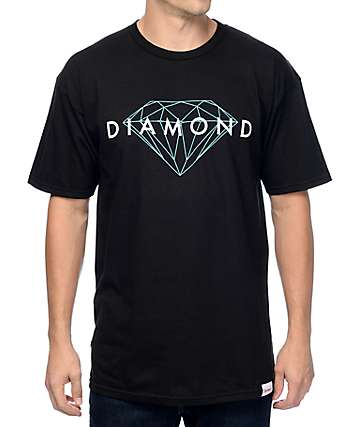 Diamond Supply Co. Brilliant camiseta negra