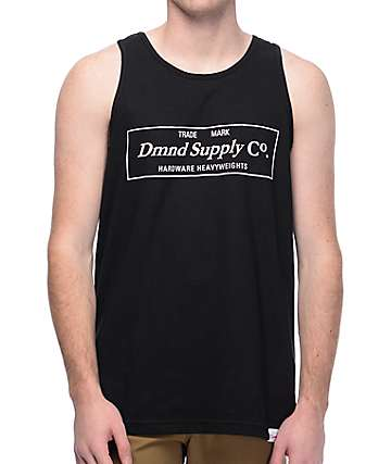 Diamond Supply Co. Camiseta negra sin mangas