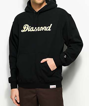 Diamond Supply Co. City Script Black Hoodie