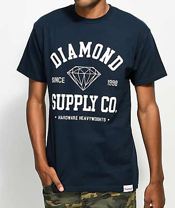Diamond Supply Co. College Navy T-Shirt