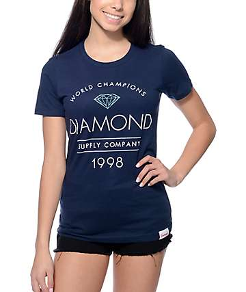 Diamond Supply Co. Craftsman Navy T-Shirt