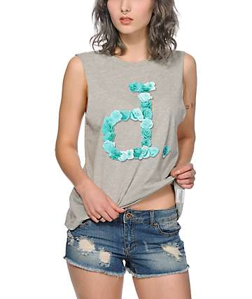 Diamond Supply Co. Cut Out Unpolo Muscle Tee