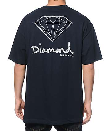 Diamond Supply Co. DAL OG Sign T-Shirt