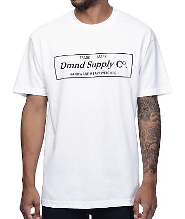 Diamond Supply Co. DMND Supply White T-Shirt