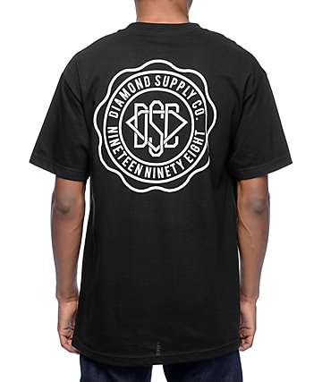 Diamond Supply Co. DSC Seal Black T-Shirt