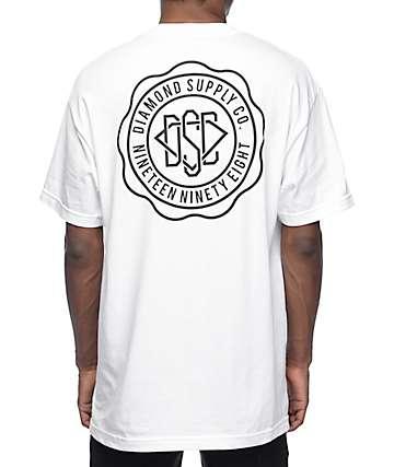 Diamond Supply Co. DSC Seal White T-Shirt