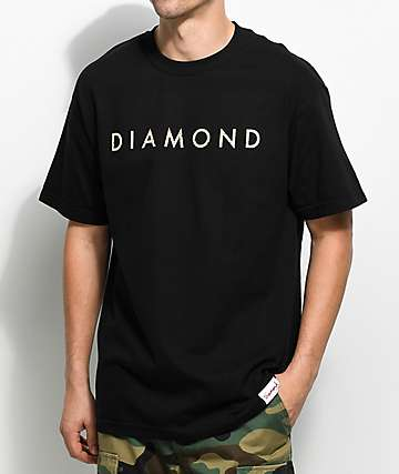 Diamond Supply Co. Desert Logo Black T-Shirt