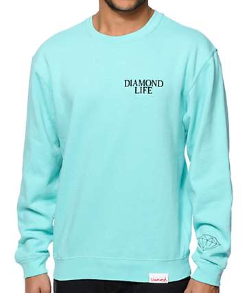 Diamond Supply Co. Diamond Life Crew Neck Sweatshirt