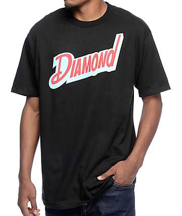 Diamond Supply Co. Downtown Black T-Shirt