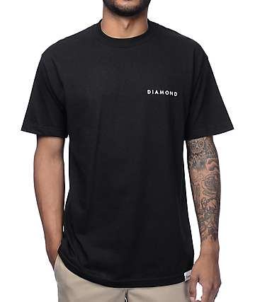 Diamond Supply Co. Fundamental Black T-Shirt