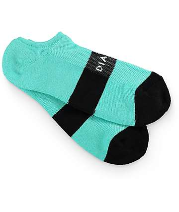 Diamond Supply Co. Futura Diamond Blue & Black No Show Socks