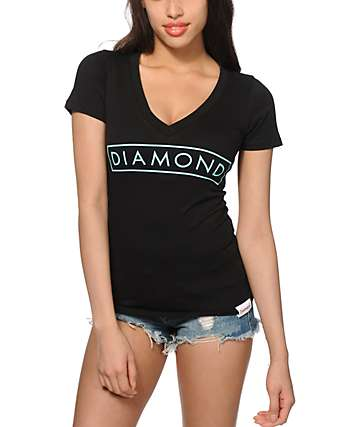 Diamond Supply Co. Future V-Neck T-Shirt