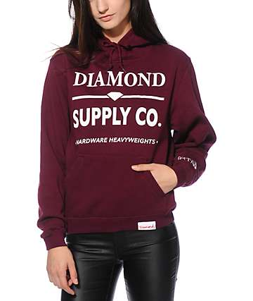 Diamond Supply Co. Hardware Lock Hoodie