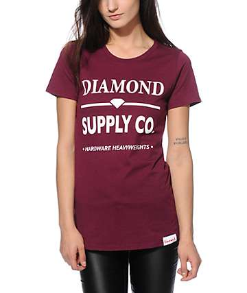 Diamond Supply Co. Hardware Lock T-Shirt