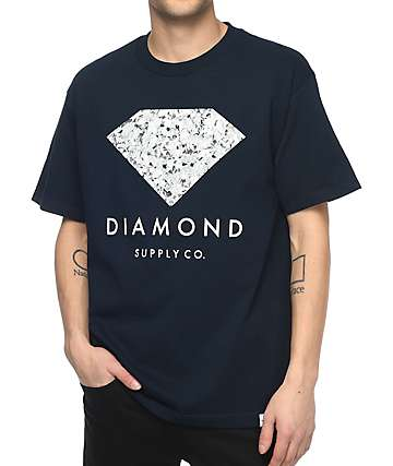 Diamond Supply Co. Infinite Navy T-Shirt