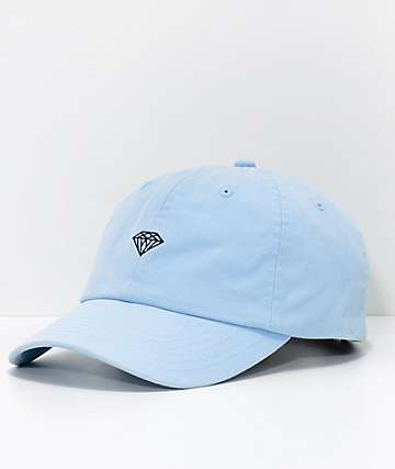 Diamond Supply Co. Micro Brilliant Powder Blue Strapback Hat