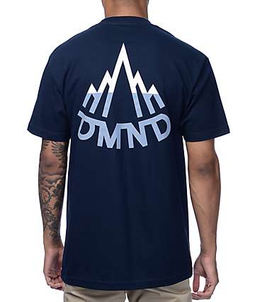 Diamond Supply Co. Mountaineer Navy T-Shirt