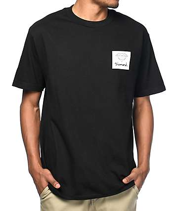 Diamond Supply Co. OG Cut Out Black T-Shirt