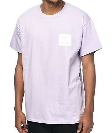 Diamond Supply Co. OG Cut Out Lavender T-Shirt