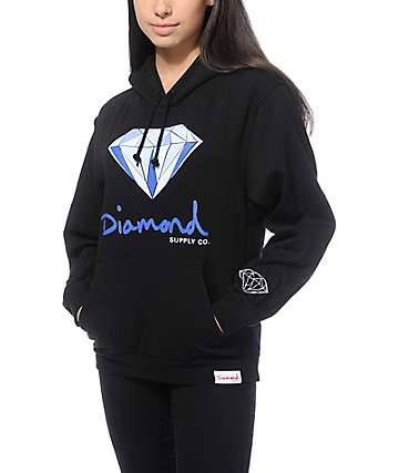 Diamond Supply Co. OG Logo Diamant Hoodie