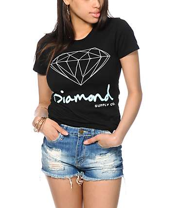 Diamond Supply Co. OG Script Black T-Shirt