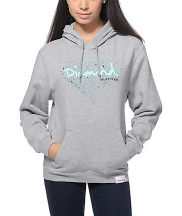 Diamond Supply Co. OG Sign Splatter Hoodie