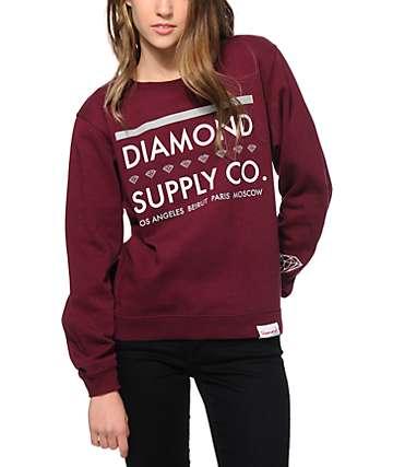 Diamond Supply Co. Roots Crew Neck Sweatshirt
