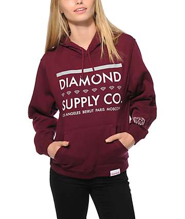 Diamond Supply Co. Roots Hoodie