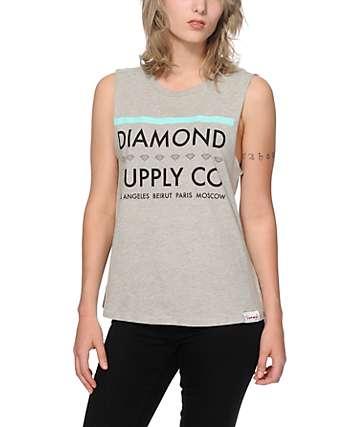 Diamond Supply Co. Roots Muscle Tee