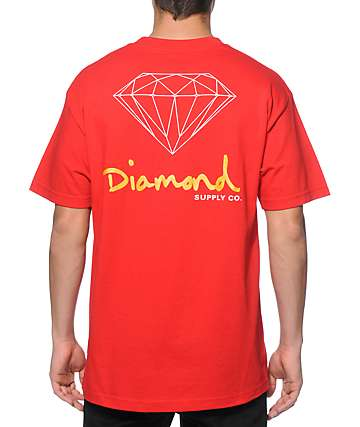 Diamond Supply Co. SF OG Sign T-Shirt