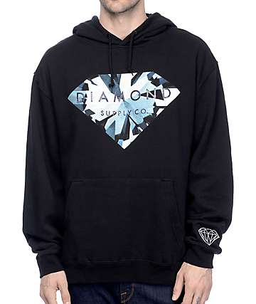 Diamond Supply Co. Simplicity Brilliant Black Hoodie