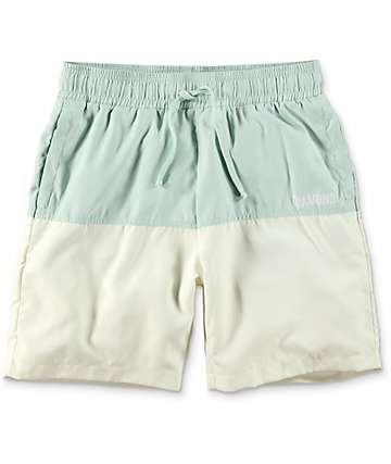 Diamond Supply Co. Speedway Mint Hybrid Board Shorts