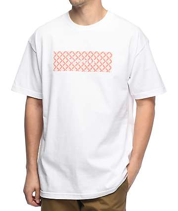 Diamond Supply Co. Tiles camiseta blanca